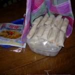 pile of spring rolls